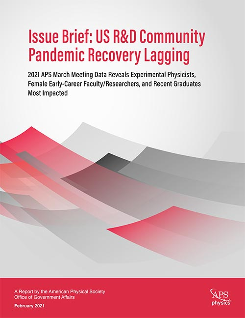 US R&D Community Pandemic Recovery Lagging cover