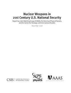 Nuclear Weapons in 21st Century U.S. National Security cover