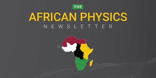 African Physics Newsletter social
