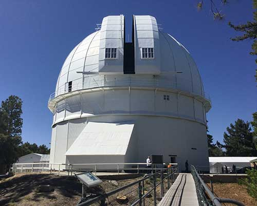 Hooker Telescope at Mt. Wilson