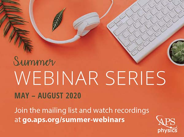 Summer Webinar Series graphic