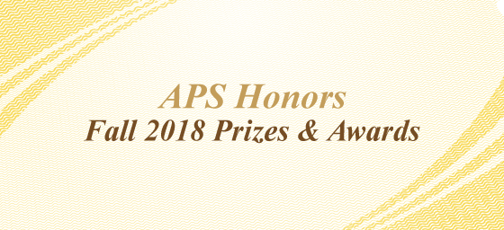 APS Fall Honors 2018 banner