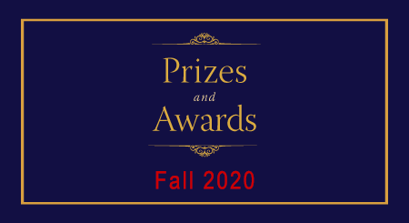 Prizes and Awards Fall 2020