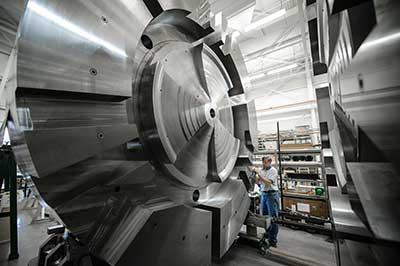 Massive cyclotron components at Facility for Rare Isotope Beams