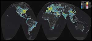a global look at light pollution